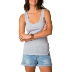 Rip Curl Plains Singlet Light Grey Heather. Rip Curl Singlets & Tanks found in Womens Singlets & Tanks & Womens T-shirts & Singlets. Code: GTENY1