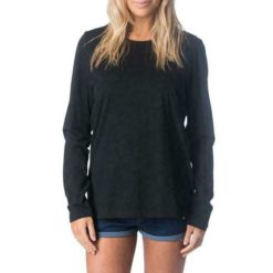 Rip Curl Plains Long Sleeve Tee Black. Rip Curl Tees - Long Sleeve found in Womens Tees - Long Sleeve & Womens T-shirts & Singlets. Code: GTEUR1