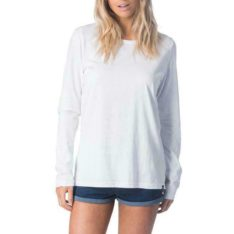 Rip Curl Plains Long Sleeve Tee White. Rip Curl Tees - Long Sleeve found in Womens Tees - Long Sleeve & Womens T-shirts & Singlets. Code: GTEUR1