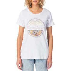 Rip Curl Splice Tee White. Rip Curl Tees found in Womens Tees & Womens T-shirts & Singlets. Code: GTEZD1