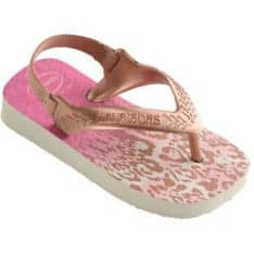 Havaianas Baby New Chic Whi/goldb White/golden Blush. Havaianas Thongs found in Toddlers Thongs & Toddlers Footwear. Code: HBPI0191