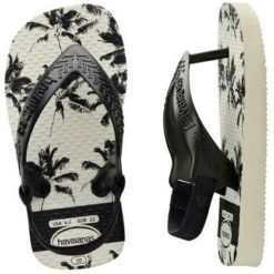 Havaianas Baby New Chic Whibkbk White/black/black. Havaianas Thongs found in Toddlers Thongs & Toddlers Footwear. Code: HBPI3471B