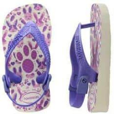 Havaianas Baby Pets White/purple White/purple. Havaianas Thongs in Toddlers Thongs & Toddlers Footwear. Code: HBPP2650B