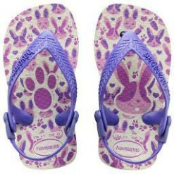 Havaianas Baby Pets White/purple White/purple. Havaianas Thongs found in Toddlers Thongs & Toddlers Footwear. Code: HBPP2650B