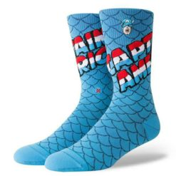 Stance Captain America Socks Blue. Stance Socks, Underwear, Pyjamas found in Mens Socks, Underwear, Pyjamas & Mens Footwear. Code: M546D18CAP