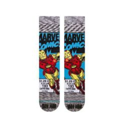 Stance Iron Man Comic Socks Grey. Stance Socks, Underwear, Pyjamas found in Mens Socks, Underwear, Pyjamas & Mens Footwear. Code: M546D18IRO