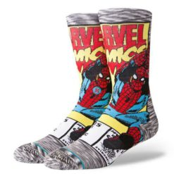 Stance Spiderman Comic Socks Grey. Stance Socks, Underwear, Pyjamas found in Mens Socks, Underwear, Pyjamas & Mens Footwear. Code: M546D18SPI