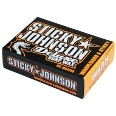 Sticky Johnson Deluxe Surf Wax Warm War. Sticky Johnson Waxes in Boardsports Waxes & Boardsports Surf. Code: SJA110