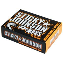 Sticky Johnson Deluxe Surf Wax Warm War. Sticky Johnson Waxes found in Boardsports Waxes & Boardsports Surf. Code: SJA110