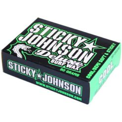 Sticky Johnson Deluxe Surf Wax Cool Cool. Sticky Johnson Waxes found in Boardsports Waxes & Boardsports Surf. Code: SJA120