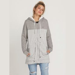 Volcom Sky Wanderer Zip Jacket Lgr. Volcom Sweats found in Womens Sweats & Womens Jackets, Jumpers & Knits. Code: B3111976