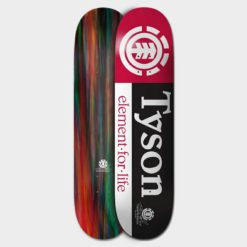 Element Tyson Section Deck 8.387 Assor. Element Skateboard Decks found in Boardsports Skateboard Decks & Boardsports Skate. Code: BDPROTYS