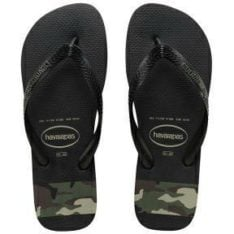 Havaianas Kids Stripes(camo)blk/gr Black/green. Havaianas Thongs found in Toddlers Thongs & Toddlers Footwear. Code: HKPS0461K