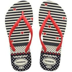 Havaianas Kids Slim Fashion Wht/rd White/red. Havaianas Thongs found in Toddlers Thongs & Toddlers Footwear. Code: HKSF0111