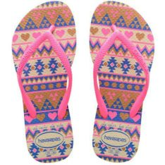 Havaianas Kids Slim Fashion Begpnk Biege/pink. Havaianas Thongs found in Toddlers Thongs & Toddlers Footwear. Code: HKSF6509