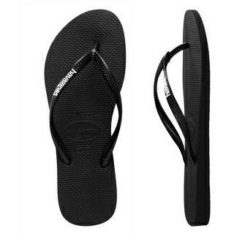 Havaianas Slim Rubber Logo Black/white. Havaianas Thongs found in Womens Thongs & Womens Footwear. Code: HSRL1191F