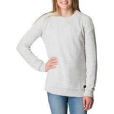 Rip Curl Teen Wanderer Knit Crew Light Grey Heather. Rip Curl Knitwears in Girls Knitwears & Girls Jackets, Jumpers & Knits. Code: JSWAK1