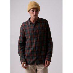 Afends Tinnie L/s Shirt Forest. Afends Shirts - Long Sleeve found in Mens Shirts - Long Sleeve & Mens Tops. Code: M191250