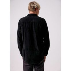 Afends Back In Black Shirt Black. Afends Shirts - Long Sleeve found in Mens Shirts - Long Sleeve & Mens Tops. Code: M191252