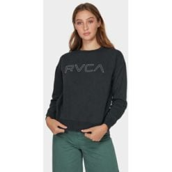 Rvca Rvca Keyline Pigm Wbk. Rvca Sweats found in Womens Sweats & Womens Tops. Code: R293156