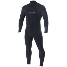 Ocean And Earth Double Black Chest Zip Steamer Black. Ocean And Earth Steamers in Mens Steamers & Mens Wetsuits. Code: SMWE01