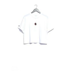 Stussy Grafitti Crop Os Tee White. Stussy Tees found in Womens Tees & Womens T-shirts & Singlets. Code: ST182013