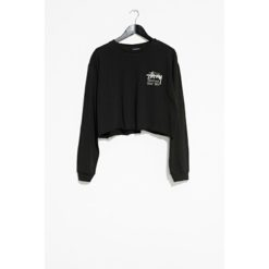 Stussy Stock Crop Long Sleeve Tee Black. Stussy Tees - Long Sleeve found in Womens Tees - Long Sleeve & Womens T-shirts & Singlets. Code: ST196012