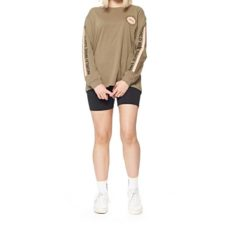 Stussy Webster Long Sleeve Tee Mushroom. Stussy Tees - Long Sleeve found in Womens Tees - Long Sleeve & Womens T-shirts & Singlets. Code: ST196021
