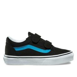 Vans Old Skool V Blk Viv Blue Black Vivid Blue. Vans Shoes found in Toddlers Shoes & Toddlers Footwear. Code: VNA38HD3M8