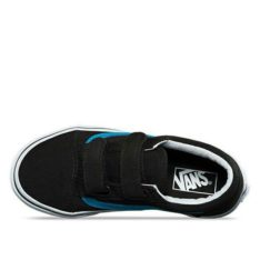 Vans Old Skool V Black Viv Blue Black Vivid Blue. Vans Shoes found in Toddlers Shoes & Toddlers Footwear. Code: VNA38HD3M8