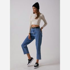 Afends Shelby High Waisted Jeans Blue. Afends Jeans found in Womens Jeans & Womens Pants & Jeans. Code: W181451