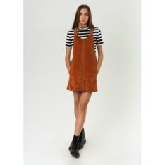 Afends Jordan Pinafore Spice. Afends Dresses found in Womens Dresses & Womens Skirts, Dresses & Jumpsuits. Code: W183812