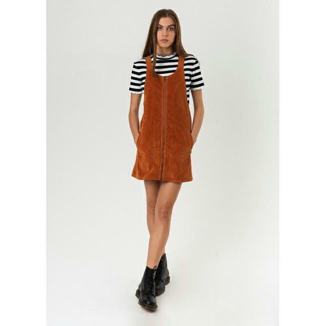 6640314741c Afends Jordan Pinafore Spice. Afends Dresses found in Womens Dresses &  Womens Tops. Code