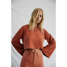 Afends Bridie Hemp L/s Tee Autumn. Afends Tees - Long Sleeve found in Womens Tees - Long Sleeve & Womens T-shirts & Singlets. Code: W191061