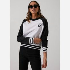Afends Angelina Crew Black. Afends Sweats found in Womens Sweats & Womens Jackets, Jumpers & Knits. Code: W192500