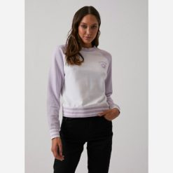 Afends Angelina Crew Laven. Afends Sweats found in Womens Sweats & Womens Jackets, Jumpers & Knits. Code: W192500