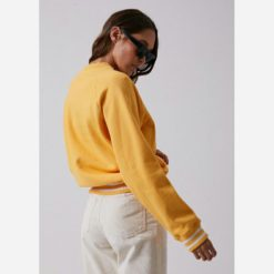 Afends Billy Jean Slouchy Crew Mello. Afends Sweats found in Womens Sweats & Womens Tops. Code: W192505