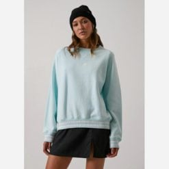 Afends Billy Jean Slouchy Crew Turq. Afends Sweats found in Womens Sweats & Womens Jackets, Jumpers & Knits. Code: W192505