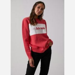 Afends Rumours Knit Crew Coral. Afends Knitwears found in Womens Knitwears & Womens Tops. Code: W192561