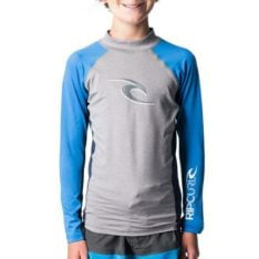 Rip Curl Boys Wave L/sl Uv Tee Light Grey Heather. Rip Curl Rashvests found in Boys Rashvests & Boys Wetsuits. Code: WLU8AJ