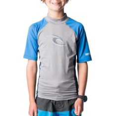 Rip Curl Boys Wave Short Sleeve Uv Tee Light Grey Heather. Rip Curl Rashvests found in Boys Rashvests & Boys Wetsuits. Code: WLU8BJ