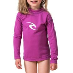 Rip Curl Grom Corpo L/sl Uv Tee Purple. Rip Curl Rashvests found in Toddlers Rashvests & Toddlers Wetsuits. Code: WLY5CO