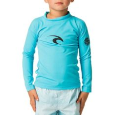 Rip Curl Grom Corpo L/sl Uv Tee Blue. Rip Curl Rashvests found in Toddlers Rashvests & Toddlers Wetsuits. Code: WLY5CO