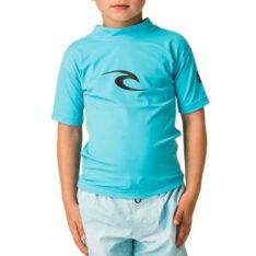 Rip Curl Grom Corpo Short Sleeve Uv Tee Blue. Rip Curl Rashvests found in Toddlers Rashvests & Toddlers Wetsuits. Code: WLY5DO
