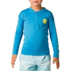 Rip Curl Groms L/sl Zip Through Uv Te Blue. Rip Curl Rashvests found in Toddlers Rashvests & Toddlers Wetsuits. Code: WLY5HO