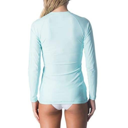 Rip Curl Belle Zip Through L/sl Uvt Light Blue. Rip Curl Rashvests found in Womens Rashvests & Womens Wetsuits. Code: WLY6HW