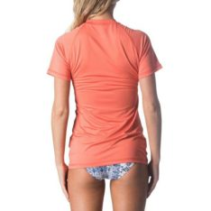 Rip Curl Sunny Rays Relaxed Short Sleeve Coral. Rip Curl Rashvests found in Womens Rashvests & Womens Wetsuits. Code: WLY6MW