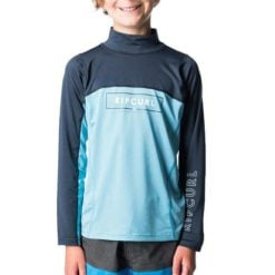 Rip Curl Boys Underline Blade Long Sleeve Navy. Rip Curl Rashvests found in Boys Rashvests & Boys Wetsuits. Code: WLY7AB
