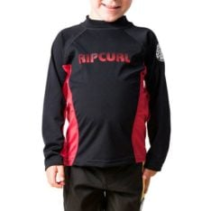 Rip Curl Grom Undertow L/sl Uvt Black/red. Rip Curl Rashvests found in Toddlers Rashvests & Toddlers Wetsuits. Code: WLY7AO