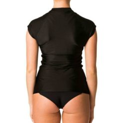 Rip Curl Belle Cap/sl F/zip Uvt Black. Rip Curl Rashvests found in Womens Rashvests & Womens Wetsuits. Code: WLY7AW